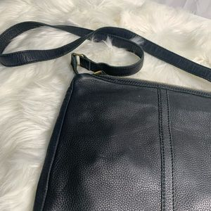 Fossil Bags - Fossil black leather purse/ bag